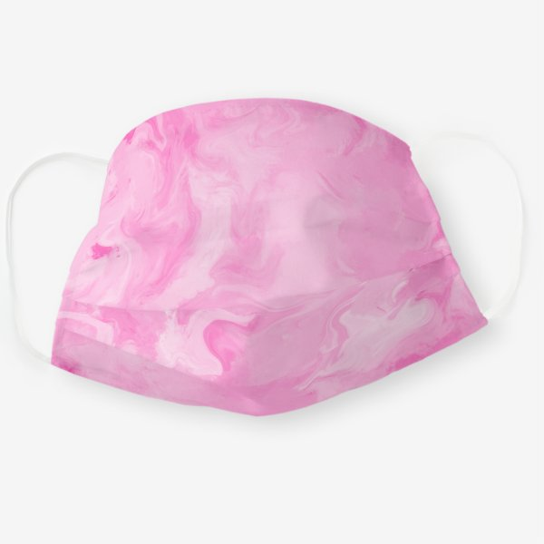 Pretty Pink Cloth Face Mask